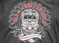 Warrior Dash Atlanta t-shirt