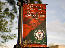 City of McDonough Historic District Banners