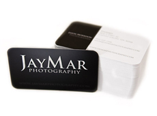 JayMar Photography business cards