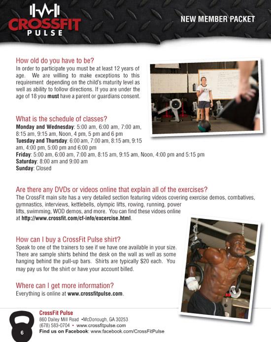 CrossFit FAQ