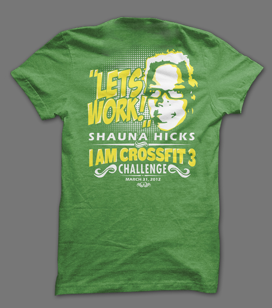 CrossFit Fundraiser Shirt