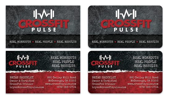 CrossFit Business Cards