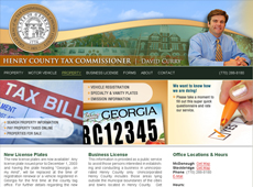 Tax Website Mockup