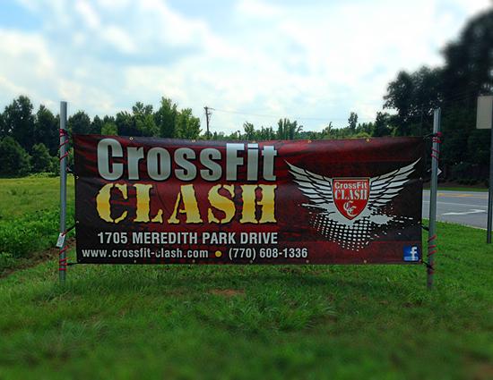 CrossFit Outdoor Street Banner