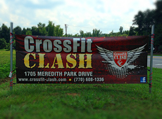 CrossFit Outdoor Street Banner