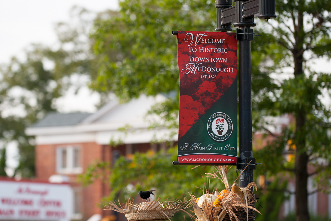 McDonough Square Banners