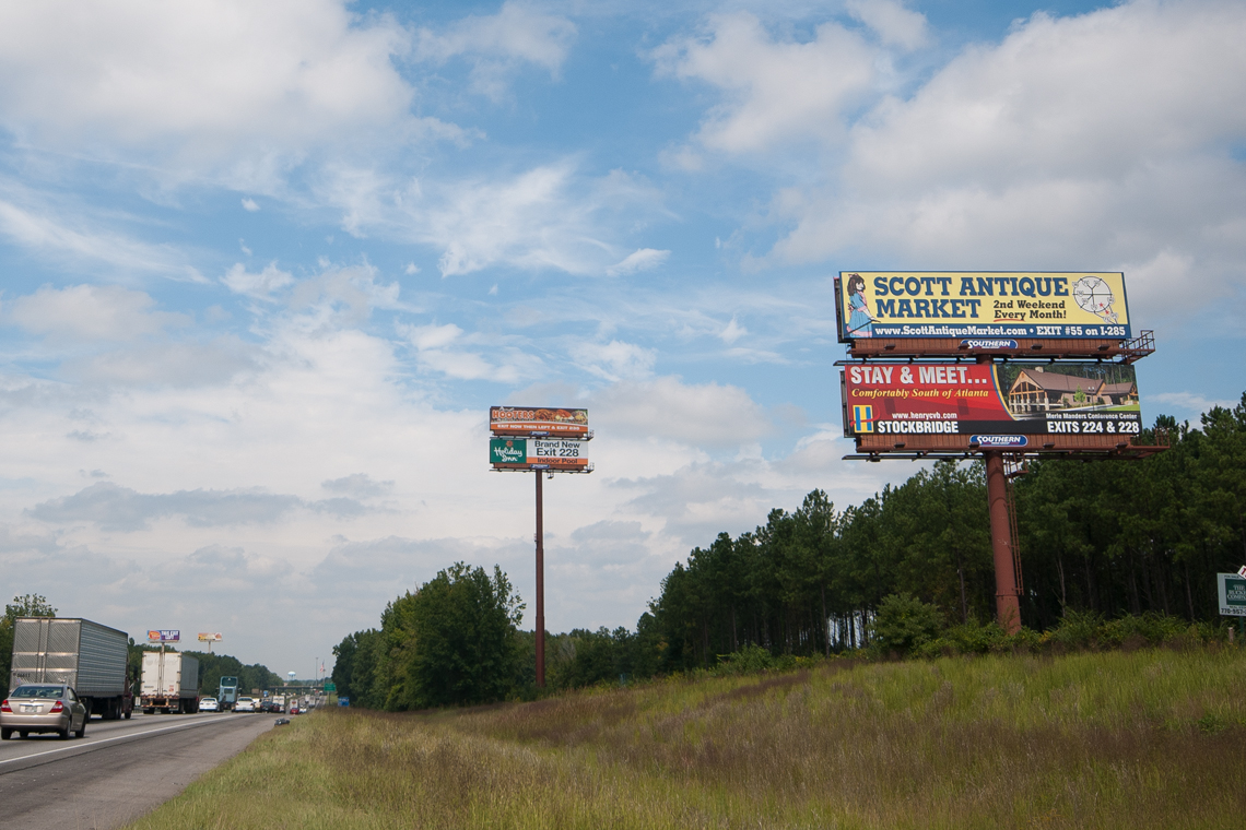 Merle Manders Conference Center Billboard