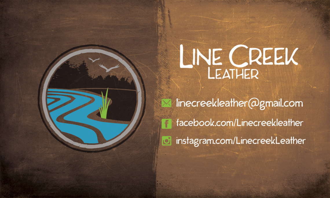 Line Creek Logo & Cards
