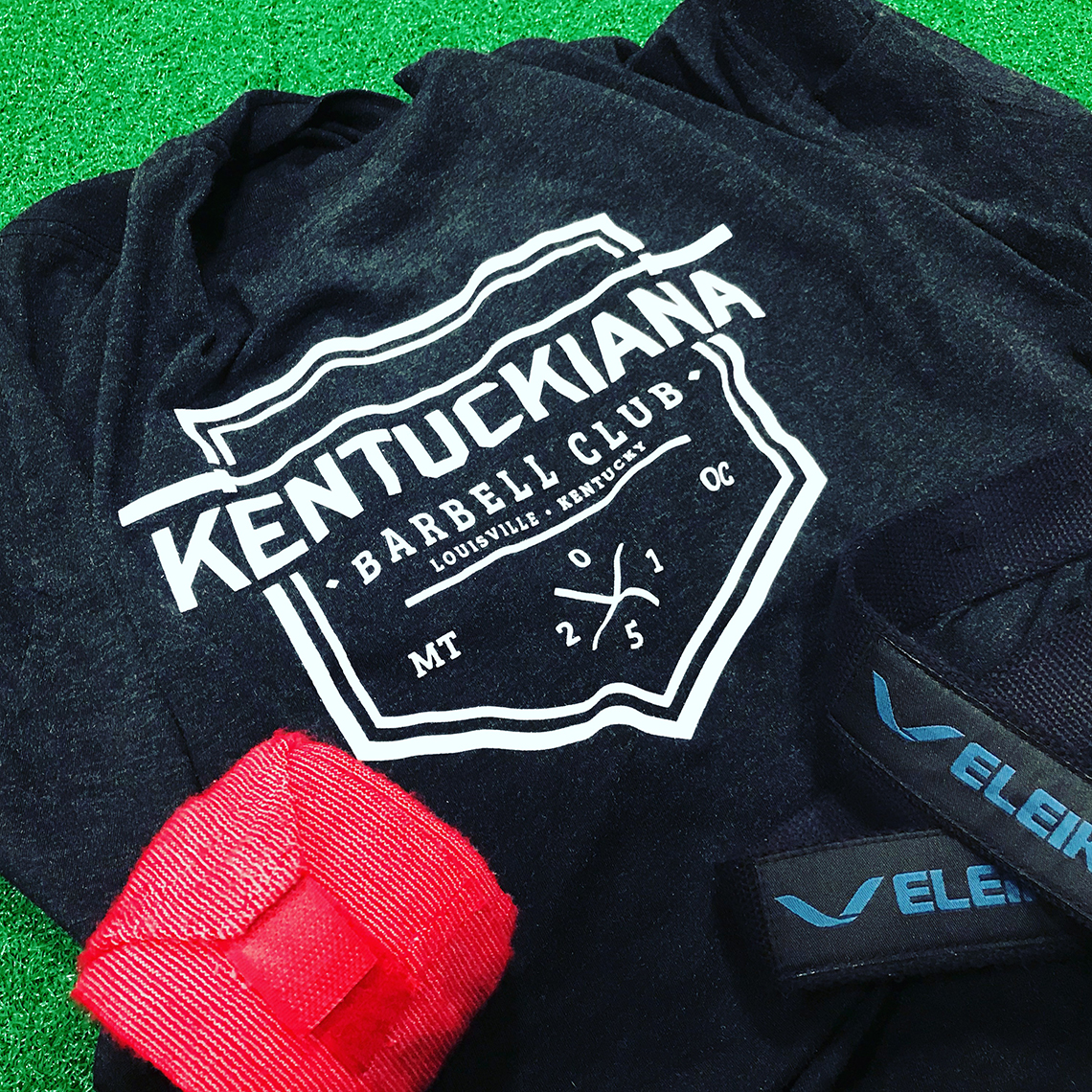 Kentuckiana Barbell Club Logo