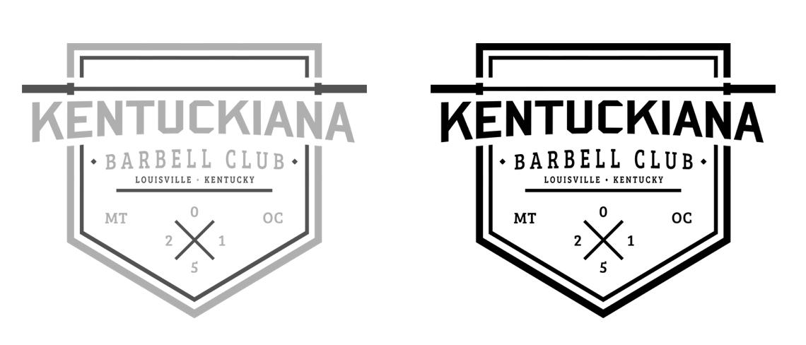 Kentuckiana Barbell Club Logo